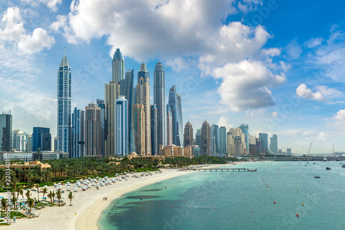 Fototapeta premium Dubai Marina