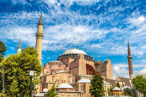 Poster Turquie Hagia Sophia in Istanbul, Turkey