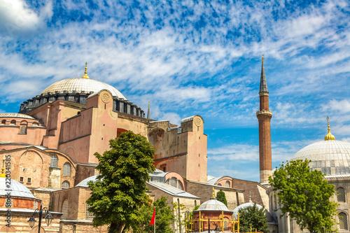 Obraz na plátne Hagia Sophia in Istanbul, Turkey