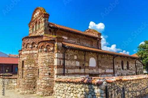 Spoed Foto op Canvas Zuid-Amerika land Old church in Nessebar, Bulgaria