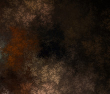 Abstract Fractal Brown Background