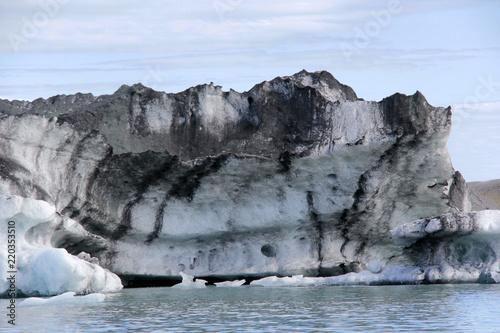 Fotografie, Obraz  glace et terre