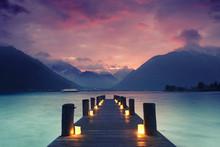 Romantik Am Bergsee