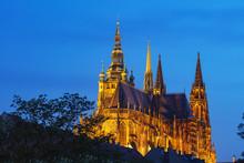 St. Vitus Cathedral, Prague, Bohemia, Czech Republic