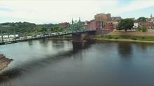 Easton, PA Drone Over Bridge