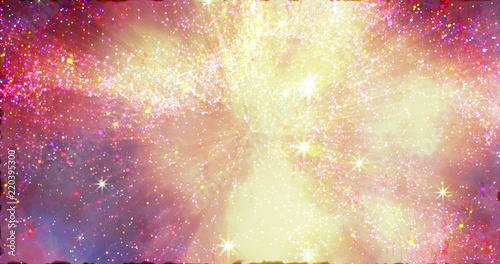 Abstract space galaxy stardust background Fototapeta