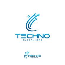 Technology Logo Designs Concep...