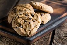 Homemade Cookies With Chocolate
