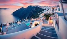Great Evening View Of Santorin...
