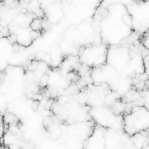 Poster Artificiel White and gray marble texture. Vector background