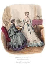 Gravure La Mode Illustrée 186...