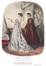 Gravure La Mode Illustrée 1867 15