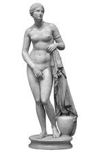 Ancient Marble Statue Of Venus...