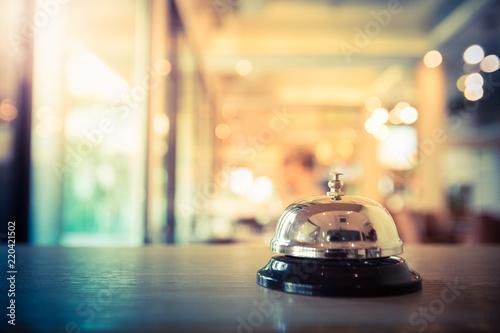 Photo  Restaurant bell vintage