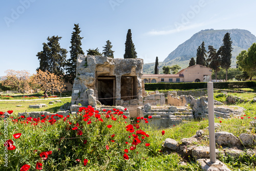 At Ancient Corinth in Greece Fototapet