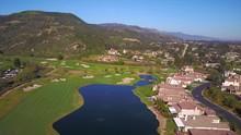 Aerial Shot Of Gold Estate In ...