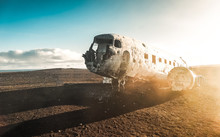 The Abandoned DC-3 Airplane On...