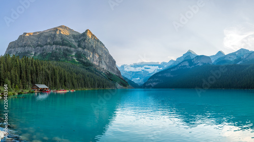 Poster Lac / Etang Lake Louise in Banff National Park of Canada