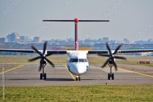 Fotografie, Obraz  LOT Airplane view
