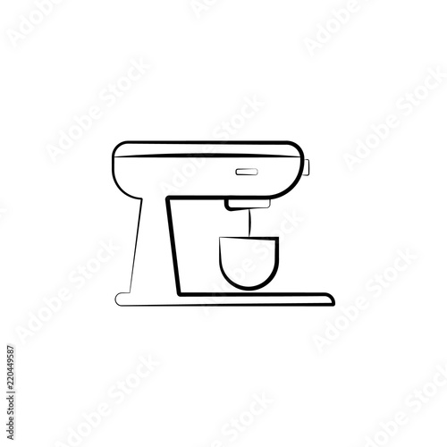 stationary mixer icon  Element of electrical devices icon  Premium