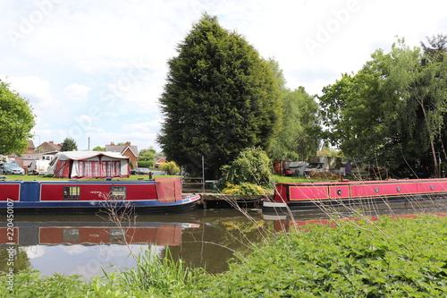 In de dag Kanaal red boats