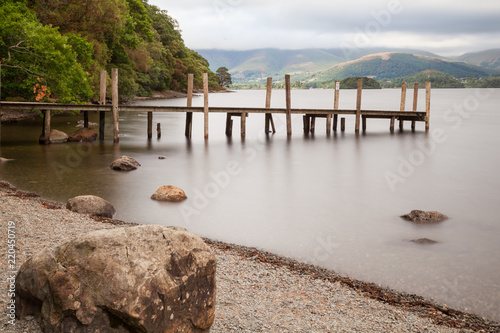 Derwent water, Lake District, England Fototapet