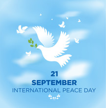 Peace Dove With Olive Branch F...