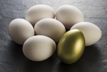 金の卵と普通の卵