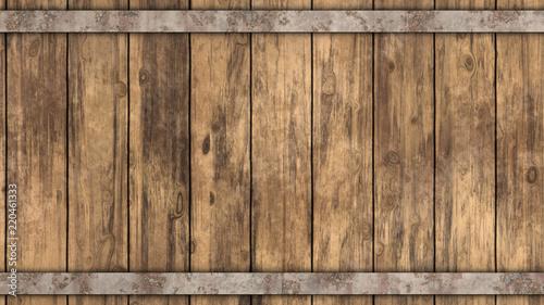 Barrel Wood Background Tableau sur Toile