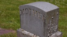 Old Mother Tombstone In Gravey...