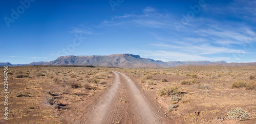 Spoed Foto op Canvas Zalm Northern Cape Landscape