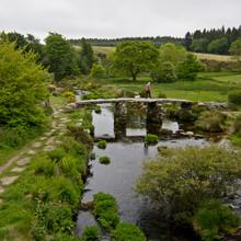 Historic Medieval Clapper Bridge