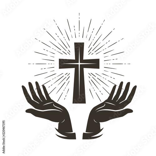 Fotografija  Church logo or label