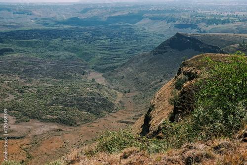 Spoed Foto op Canvas Blauwe jeans Menengai Crater, Nakuru, Kenya
