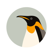 Penguin  Profile Side Vector I...