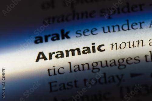 Fotomural aramaic