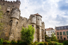 Castle Gravensteen In Ghent