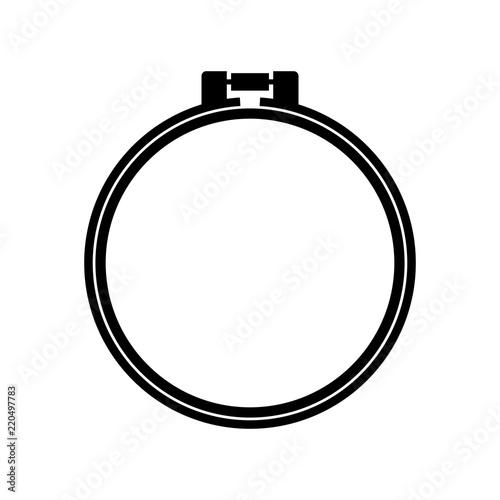 Fotografía Round adjustable embroidery hoop