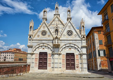 Church Santa Maria Della Spina Pisa Italy