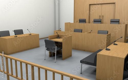 Fotografie, Obraz 法廷