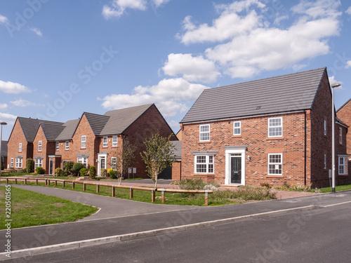 Fényképezés  New build houses UK