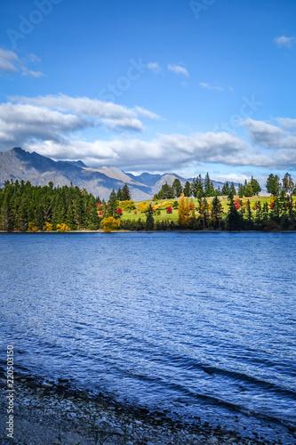Spoed Foto op Canvas Oceanië Lake Wakatipu, New Zealand