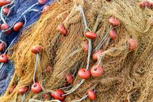 Fishing Net. Sea Fishnet Equip...