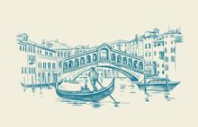 Venice Hand Drawn