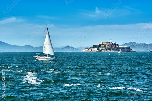 Keuken foto achterwand Amerikaanse Plekken Alcatraz Island in San Francisco