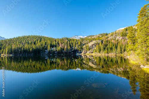 Poster Verenigde Staten Bear Lake, Rocky Mountains, Colorado, USA.