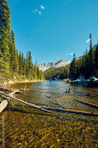 Poster Verenigde Staten Lake Verna, Rocky Mountains, Colorado, USA.