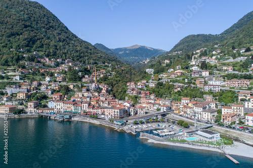 Photo Village of Argegno, Como lake (Italy)