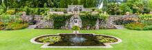 Victorian Garden At Plas Newyd...