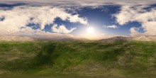 Panorama Of The Hills. Environ...